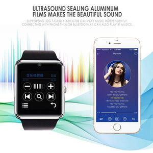 Relogio bluetooth smart watch com camera secreta