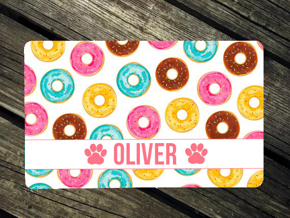 Doughnut Luv Dog Mat