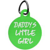 Daddys Little Girl Fun Tag