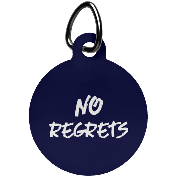 No Regrets Fun Tag