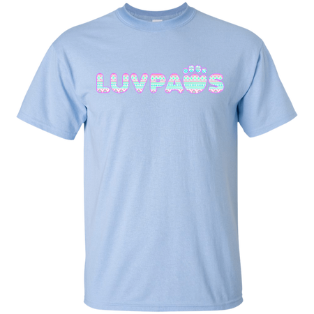 Forest Green Camo Luv Paws T-Shirt