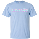 Light Blue Cotton Candy Luv Paws T-Shirt