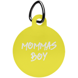 Mommas Boy Fun Tag