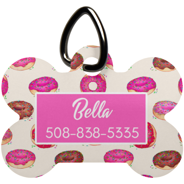 Doughnut Dog Bone Luv Tag