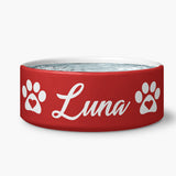 Red Luv Water bowl
