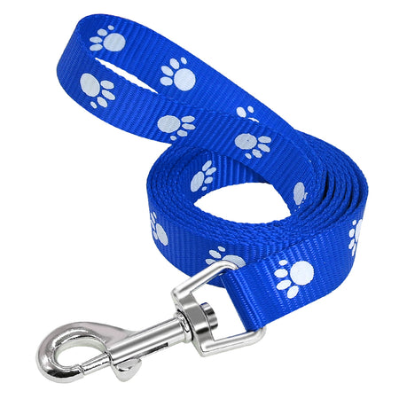 Black Paw Print Luv Leash