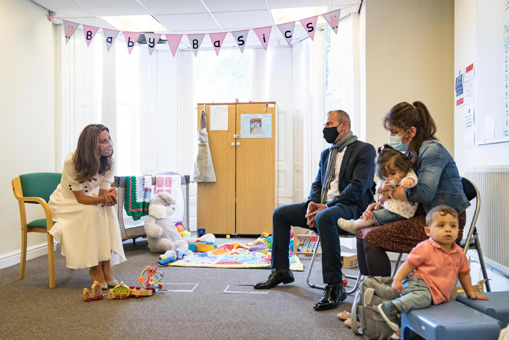 Supporting baby banks with the Duchess of Cambridge