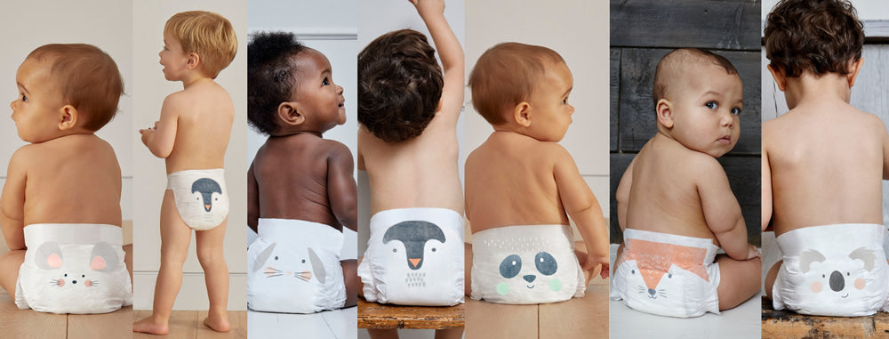 Our new adorable animal nappy designs