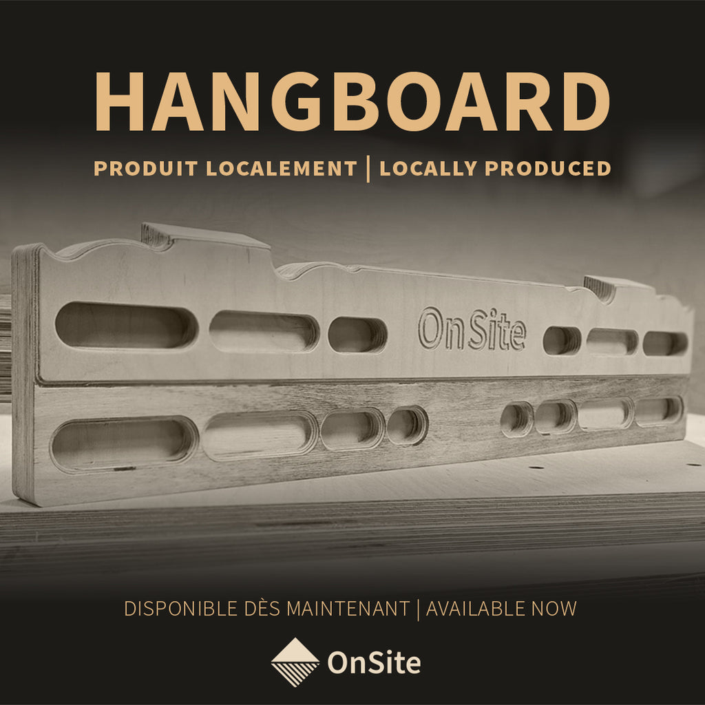 Lifesaving Hangboard