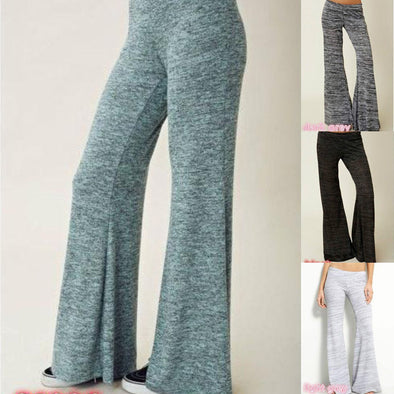 Women's Casual Loose Yoga Simple Soft Long Sports Cotton Pants