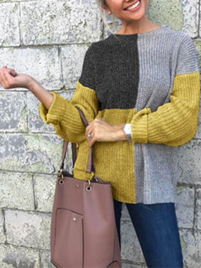 Long Sleeve Spring/Fall Casual Sweater