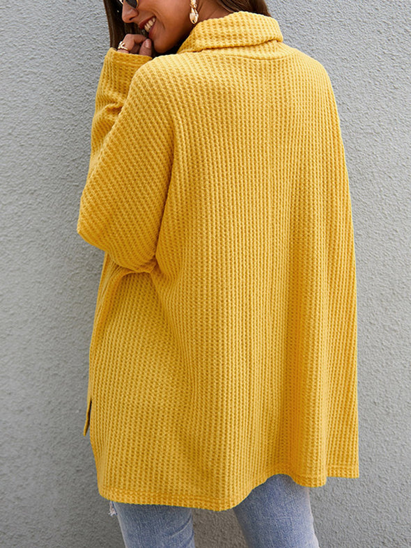 Long Sleeve Knitted Casual Knitwear