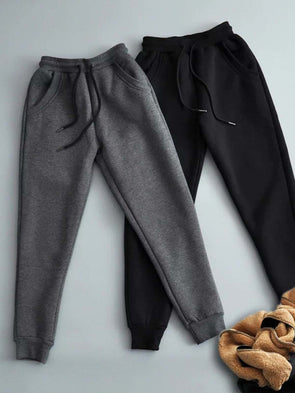 Simple & Basic Solid Pants