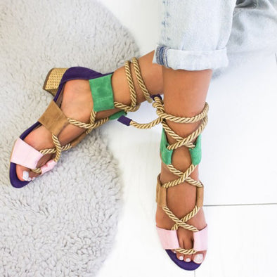 Casual Summer Low Heel Shoes