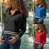 Long Sleeve Casual Stand Collar Knitwear