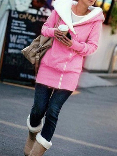 Hoodie Casual Cotton Long Sleeve Outerwear