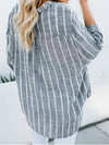 Striped Casual Long Sleeve Tops