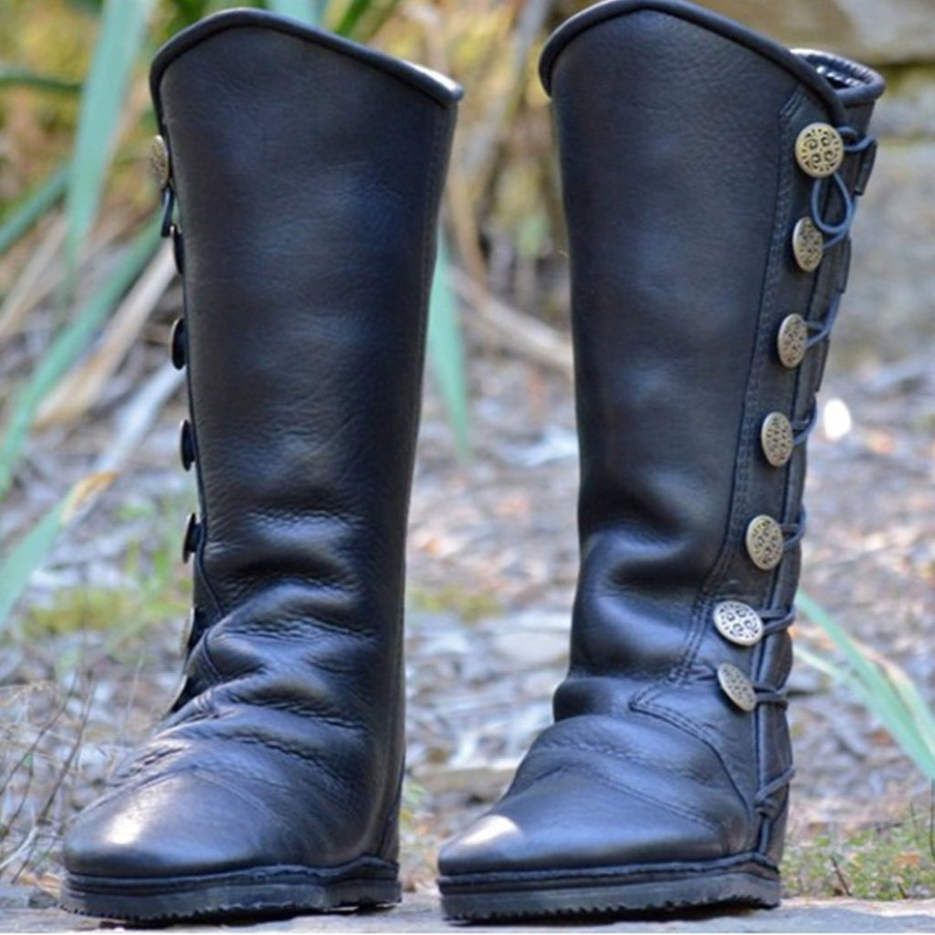 Artificial Leather Boots