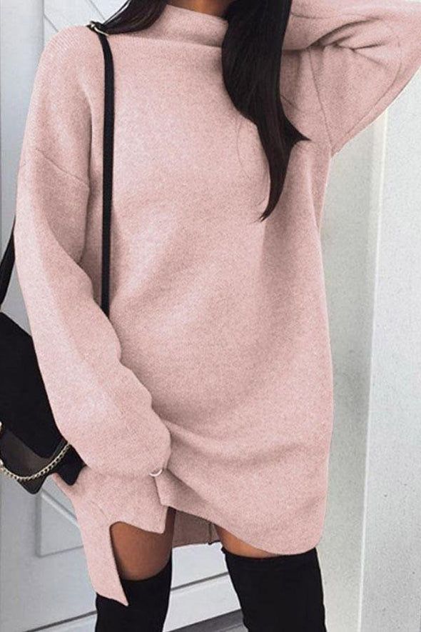 Long Sleeve Cotton Sexy Turtleneck Tops