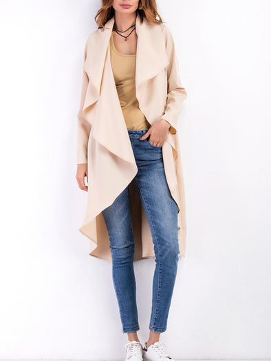 Long Sleeve Patch Coat