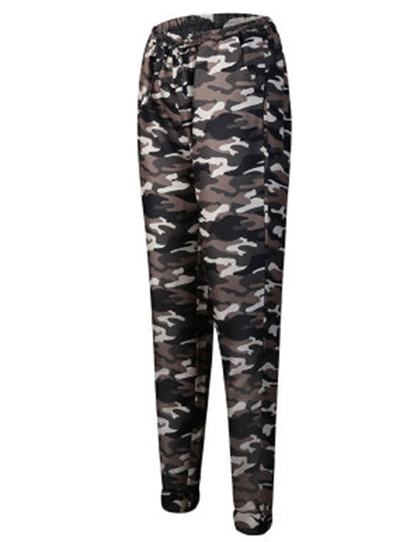 Camouflage printed trousers Pants