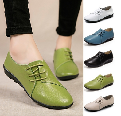 Woman Boat Shoes Breathable Fashion Flat Shoes