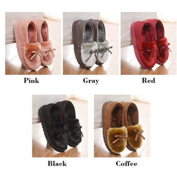 Flat Heel Casual Bowknot Shoes