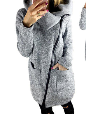 Long Sleeve Lapel Casual Coat