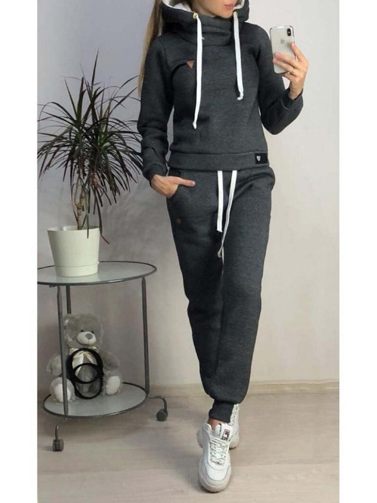 Long Sleeve Casual Women's Set