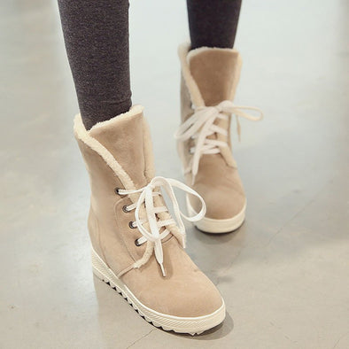 Daily Wedge Heel Spring/fall Lace-Up Shoes