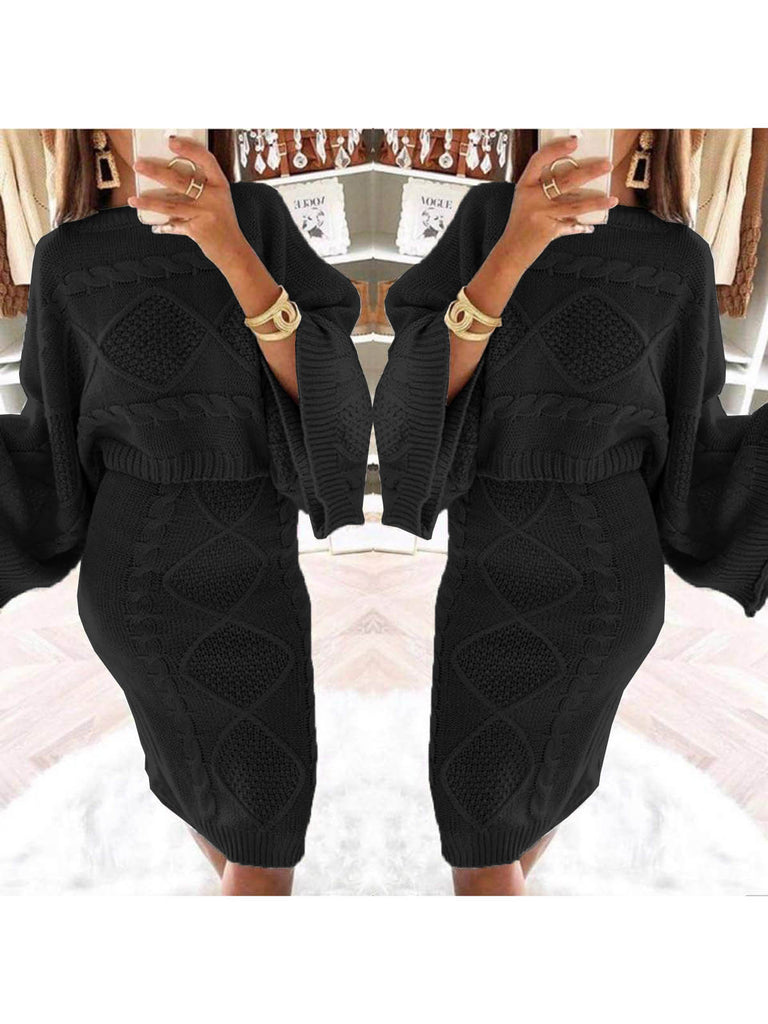 Two Piece Round Neck Casual Women's Set