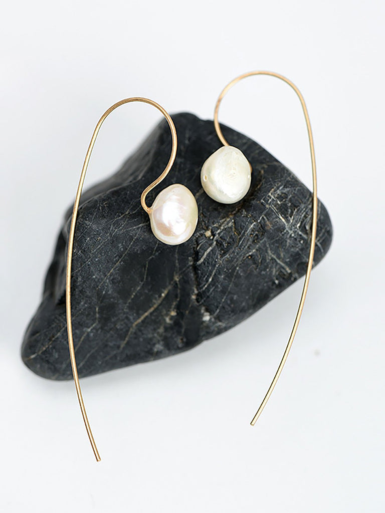 Women Pear Vintage Simple Earrings