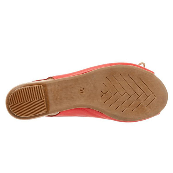 Elastic Band Summer Artificial Leather Shoes