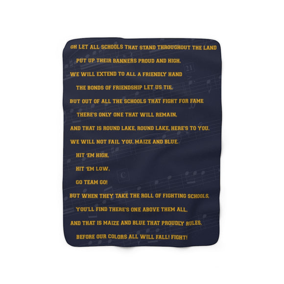 Fight Song Lyrics (Sherpa Fleece Blanket)