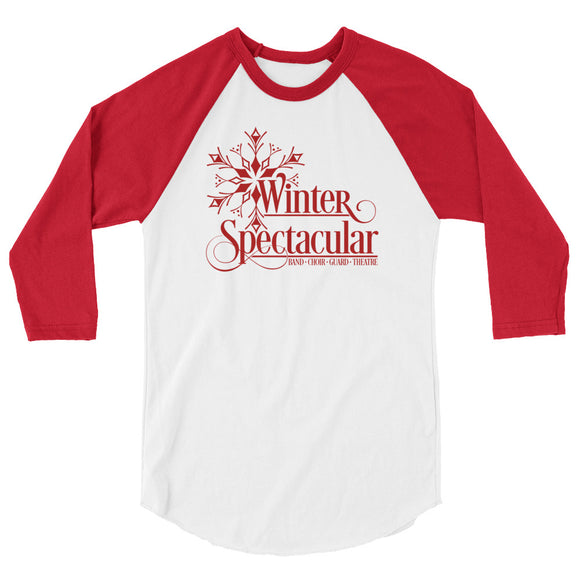 Winter Spectacular - 3/4 sleeve raglan shirt