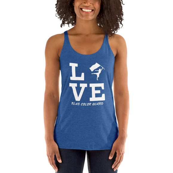 Guard Love (Women's Racerback Tank)