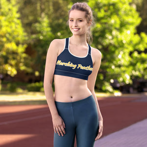 Marching Panthers (Non-Padded) Sports bra