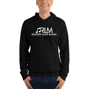 Round Lake Music (Black & White - Unisex hoodie)