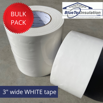 White Tape - Bundle 10 Pack