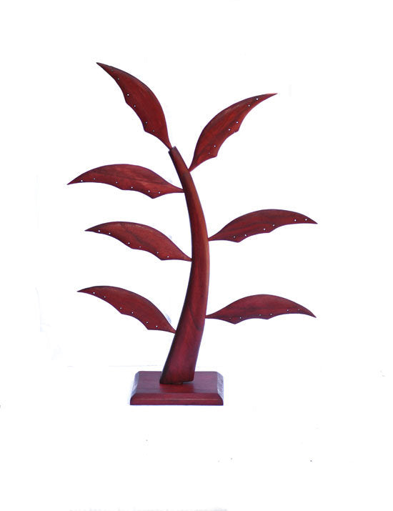 Large (20 inch) Earring Tree - Red