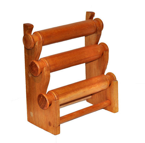 3-Tier Countertop Bracelet Display Rack - Natural
