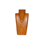 10 inch Solid Wood Neck Display natural front