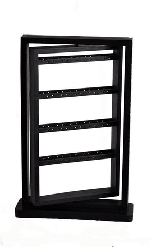 "20"" Rotating Earring Display Rack - Black"