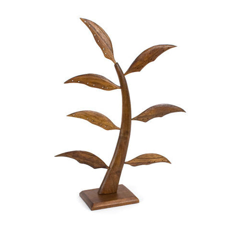 Large (20 inch) Earring Tree - Walnut