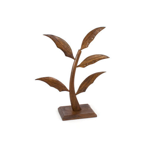 Small (14.5 inch) Earring Tree - Walnut