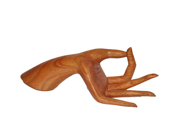 Wood Mannequin Display Hand - Natural