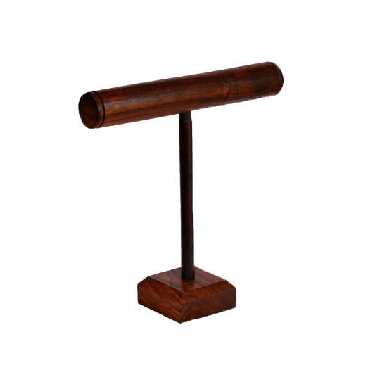 "18"" T-Bar Bracelet & Necklace Stand - Walnut"