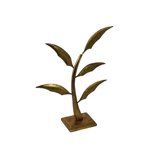Small (14.5 inch) Earring Tree - Antique Gold