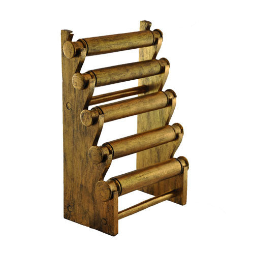5-Tier Countertop Bracelet Display Rack - Antique Gold