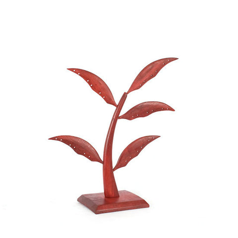 Small (14.5 inch) Earring Tree - Red